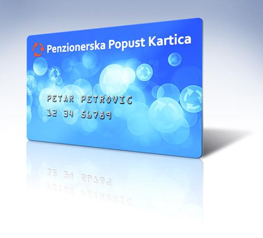 penzionerska popust kartica